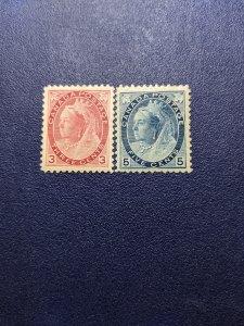 Canada 78-9 VFMH, CV $310