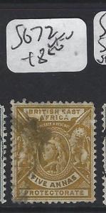 BRITISH EAST AFRICA (P2705BB)  LION QV  5 A   SG 72   VFU
