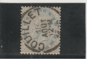 Belgium  Scott#  46  Used  (1883 King Leopold)