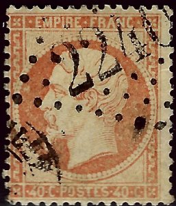 France Sc #27 Used F-VF SCV$7.00...French Stamps are Iconic!