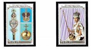 Bahamas 424-25 MNH 1978 QEII Silver Jubilee