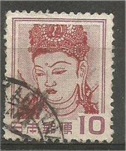 JAPAN , 1953 , used 10y,  Kannon, Scott 580