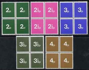 Great Britain 1971 Decimal Training School stamps the com...