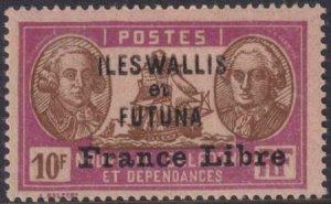 Wallis and Futuna 1941 SC 125 MLH