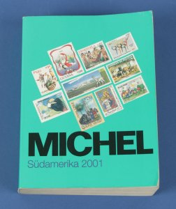 CATALOGUES & LITERATURE South America Michel Specialised Catalogue 2001.