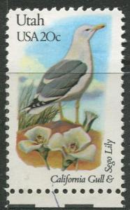 USA - Scott 1996 - State Birds & Flowers - 1982 - MNG - Single 20c Stamp