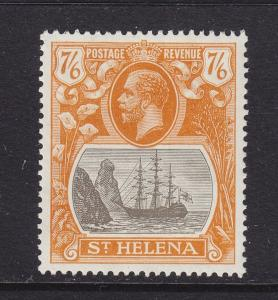 St Helena Scott # 92 XF OG mint lightly hinged nice color cv $ 140 ! see pic !
