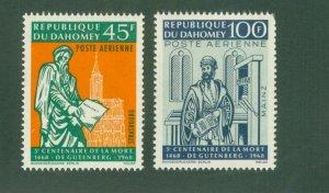 DAHOMEY C69-70 MNH BIN$ 1.50