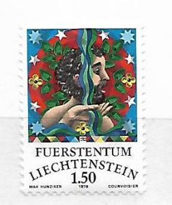 LIECHTENSTEIN,609, MNH, ZODIAC SIGNS