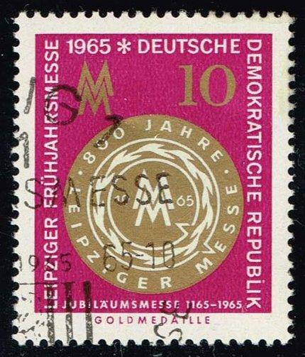 Germany DDR #756 Leipzig Spring Fair Gold Medal; CTO (0.25)