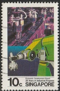 Singapore,  #487 Used  From 1986