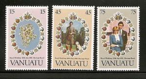 Vanuatu  set mint S.C. 308 - 310