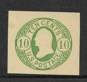 USA U40  Cut Square- Mint -  CV$40.00