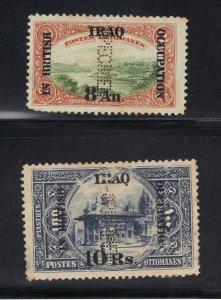 Iraq Stamp Perforated Specimen Mesopotamia  2 Values - Read Desc