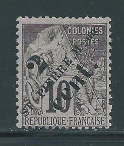 St. Pierre 39 2c Overprint single MH (z2)