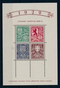 [45197] Estonia 1939 Caritas VF MNH