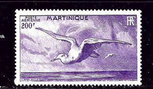Martinique C12 MH 1947 Bird