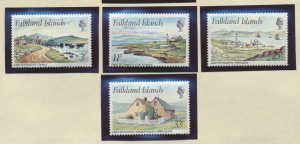 Falkland Islands Stamps Scott #310 To 313, Mint Never Hinged - Free U.S. Ship...