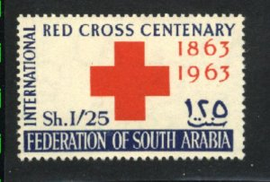 South Arabia #2   Mint NH VF 1963 PD