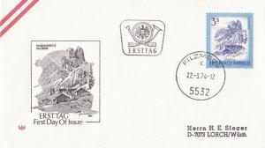 AUS87) Austria 1974 Landscapes of Austria