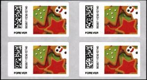 US CVP101 Holiday Cookies Kiosk ATM forever block MNH 2017