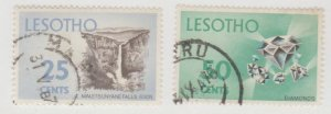 Lesotho Scott #56-57 Stamps - Used Set