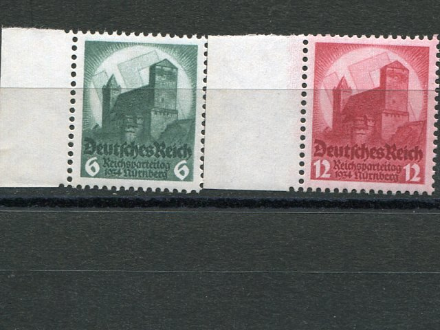 Germany #442-43    Mint VFNH  - Lakeshore Philatelics