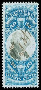 U.S. REV. SECOND ISSUE R113  Used (ID # 85927)