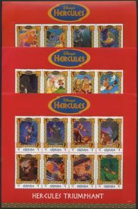 Grenada 2751-3 MNH Disney, Hercules