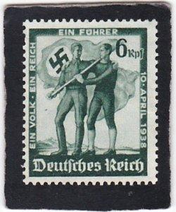 Germany,  #  484   unused