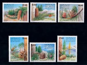[69789] Monaco 1991 Flora Trees Conifer  MNH