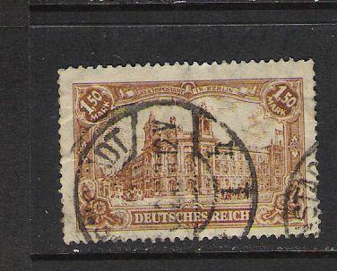 GERMANY 113 VFU A1117