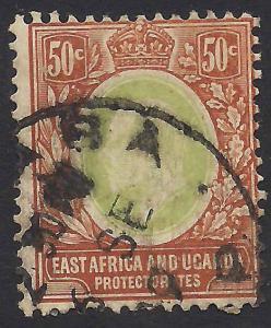 East Africa & Uganda Protectorates 38 Used F