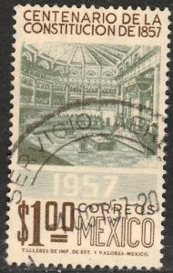 MEXICO 902, Centenary of the Mexican Constitut. Used. F-VF. (381)