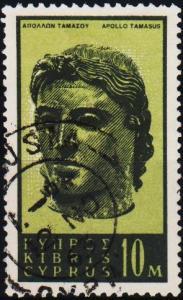 Cyprus. 1962 10m S.G.213 Fine Used