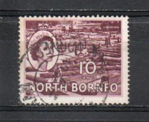 North Borneo 267 used