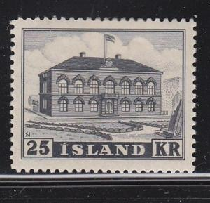 Iceland Scott # 273 VF MLH nice color scv $ 90 ! see pic !