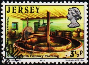Jersey. 1975 3 1/2p S.G.120 Fine Used