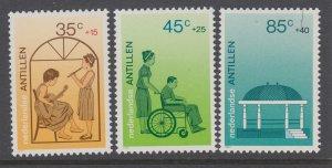 Netherlands Antilles B250-B252 MNH VF
