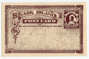 (I.B) Cinderella : Gerald King Wonderland (Snark Island Postcard 1d)