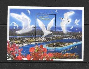 BIRDS - VANUATU #960a REEF HERON  MNH