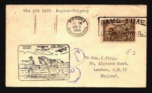 Canada FFC 1930 Regina to Calgary - L2079