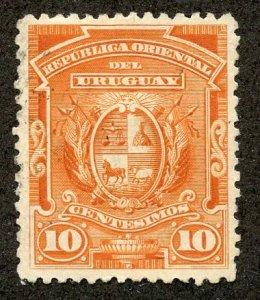Uruguay, Scott #85, Unused, Hinged