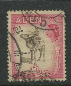 STAMP STATION PERTH Aden #57 - QEII Definitive Issue 1953-59  Used  CV$0.65.