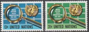 United Nations #278-9   MNH  (K1152)