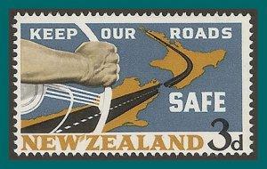 New Zealand 1964 Road Safety, MNH  #365,SG821