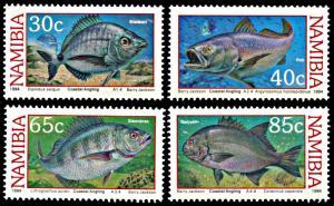 Namibia MNH 755-8 Coastal Angling Fish 1994