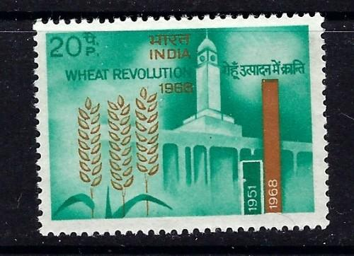 India 468 Hinged 1968 issue