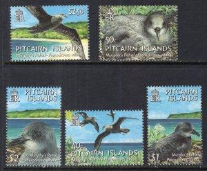 Pitcairn Islands 604-608 Birds MNH VF