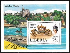 Liberia Mint Never Hinged ~ Souvenir Sheet ~ [9189]